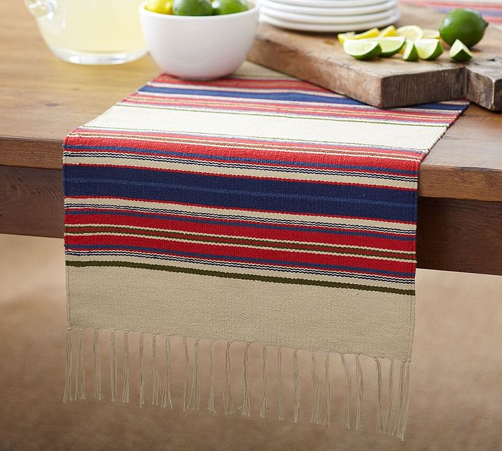 Dhurrie Stripe Table Runner