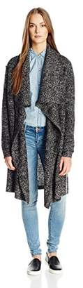 Calvin Klein Jeans Women's Boucle Open Front Cardigan Sweater $32.99 thestylecure.com