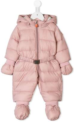 Save The Duck Kids hooded snowsuit
