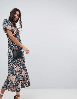 Lily & Lionel Midi Dress in Vintage Floral