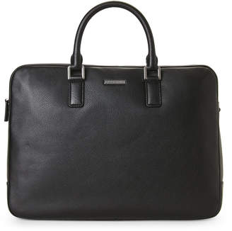 Michael Kors Black Stephen Leather Briefcase