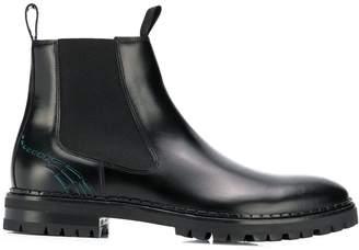 Lanvin cut-out Chelsea boots