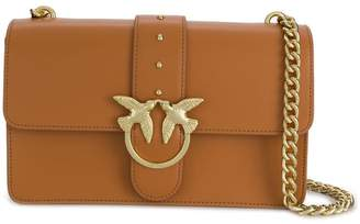 Pinko bird plaque cross body bag