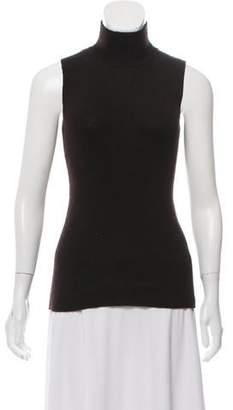 Zang Toi Sleeveless Cashmere Sweater