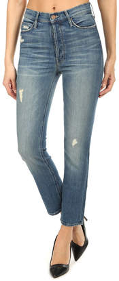 Mother The Dazzler Button Fly Ankle Jean