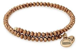 Alex and Ani Brilliance Copper Spark Expandable Wrap Bracelet
