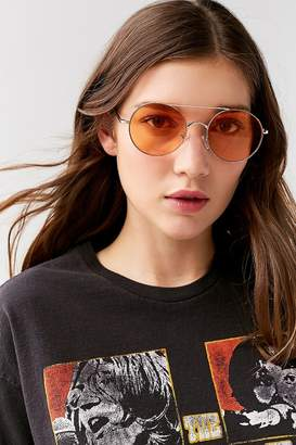 Urban Outfitters Rounded Aviator Sunglasses
