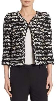 Edward Achour Specked Tweed Jacket
