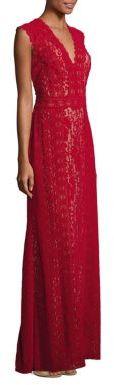 Tadashi Shoji Floor-Length Sleeveless Gown $548 thestylecure.com