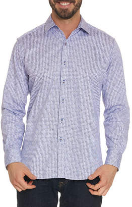 Robert Graham Men's Kirk Long-Sleeve Sport Shirt