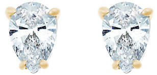 Affinity Diamond Jewelry Pear Diamond Earrings, 14K Gold, 3/4 cttw, by Affinity