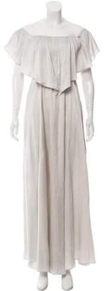 Hellessy Silk Maxi Dress w/ Tags