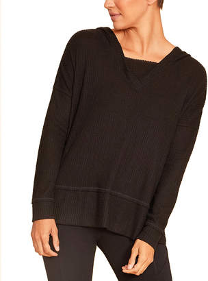 Zobha Long Sleeves Jillian Hoodie Top