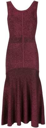 Ginger & Smart tincture metallic knit dress
