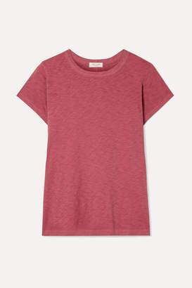 Rag & Bone The Tee Slub Pima Cotton-jersey T-shirt - Brick