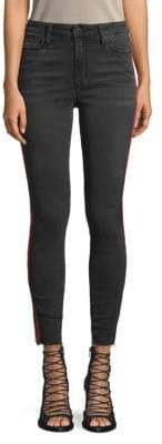 Joe's Jeans Jedda High-Rise Side-Stripe Skinny Ankle Jeans
