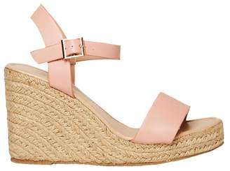 Dorothy Perkins Pink Rizzo Espadrille Wedge Sandals