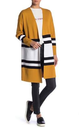 Timing Striped Long Sleeve Cardigan