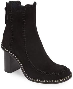 J.W.Anderson Scarecrow Stitched Suede Bootie