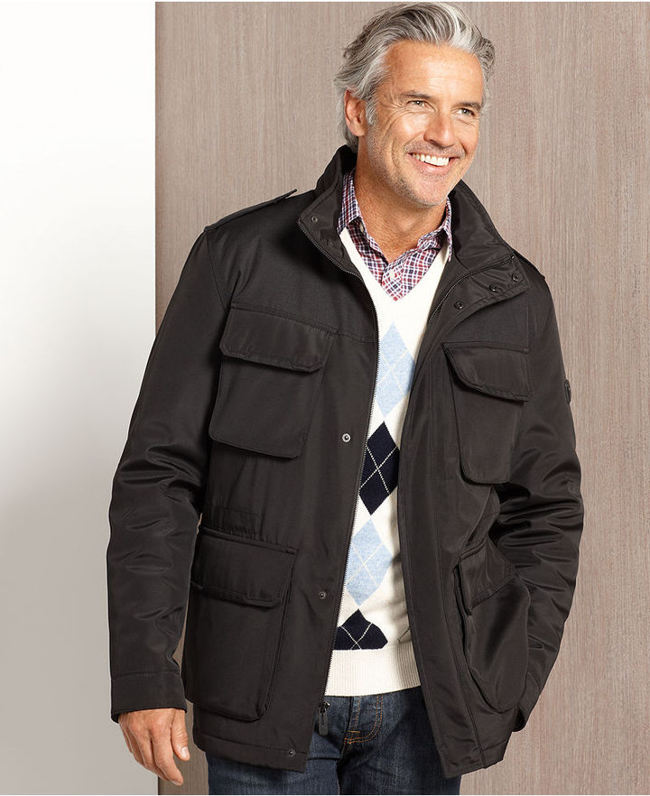 Tumi T Tech by Jacket, Microtech Bonded Water-Resistant Jacket