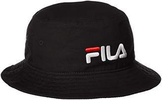Fila (フィラ) - (フィラ キッズ) FILA KIDS FL BUCKET HAT KIDS 157-713509 01BK 黒 54