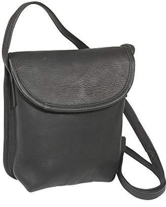 Le Donne LeDonne Unisex Adult Leather Magnetic Flap Mini Handbag