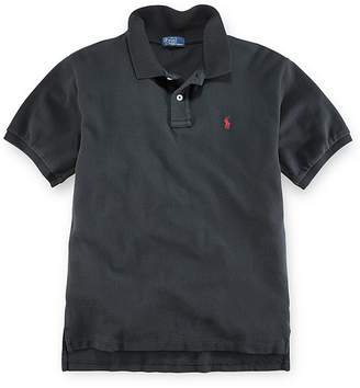 Polo Ralph Lauren Boys' Solid Mesh Polo Shirt - Little Kid