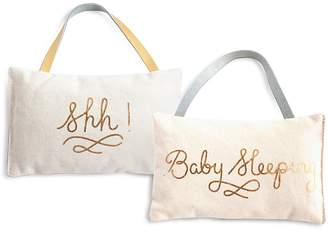 Rosanna Shh! Baby Sleeping Door Pillow
