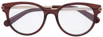 Salvatore Ferragamo Eyewear round-frame optical glasses