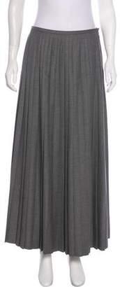 Bergdorf Goodman Pleated Midi Skirt