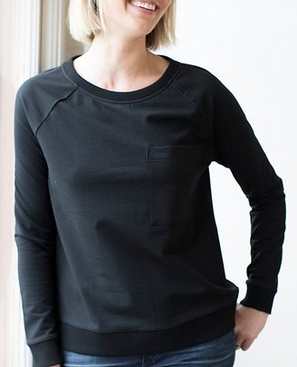 Women Luxe Sweatshirt In French Terry $78 thestylecure.com