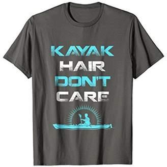 Kayak Hair Don't Care Kayaking