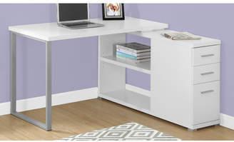 Monarch Specialties Inc. Niles L-Shape Executive Desk