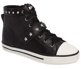 Ash Vava Curve Studded High Top Sneaker