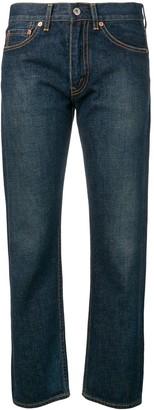 Junya Watanabe cropped girlfriend jeans