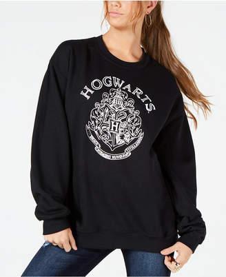 Modern Lux Juniors' Hogwarts Graphic-Print Sweatshirt