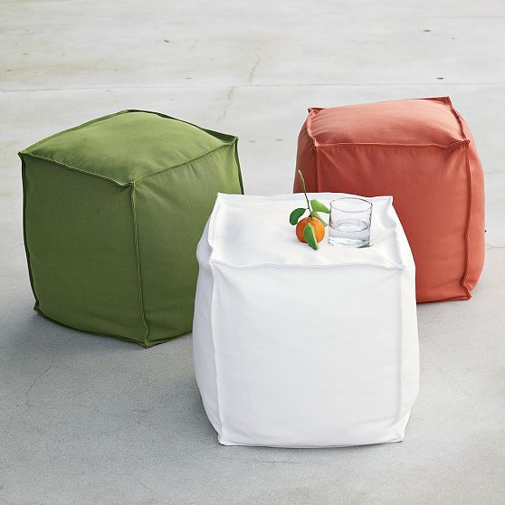 Outdoor Beanbag Cube