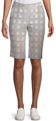 Akris Checkered Short