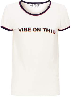Wildfox Couture Slogan T-Shirt