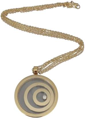 Chopard Happy Spirit yellow gold pendant