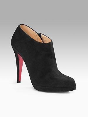 Christian Louboutin Goya Boot Plain Booties