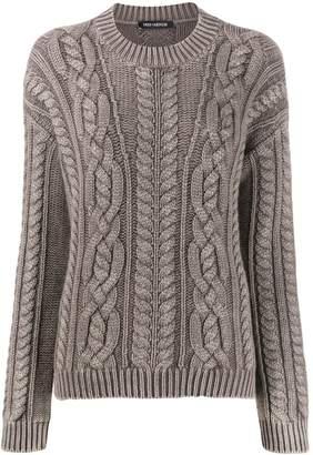 Iris von Arnim cashmere chunky knit sweater