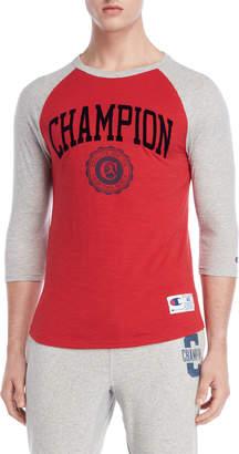 Champion Heritage Slub Baseball Tee