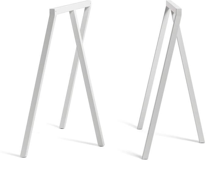 Hay - Loop Tischböcke Stand Frame High, Weiß (2 Stück)