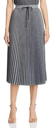 Lafayette 148 New York Gwenda Pleated Midi Skirt