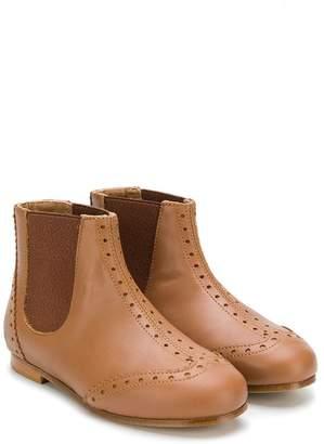 Chloé Kids brogue detail boots