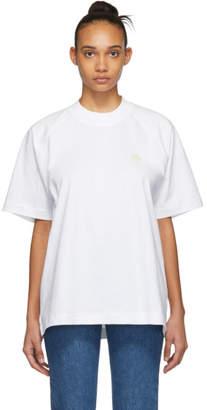 Acne Studios White Bla Konst Bassetty Uni T-Shirt