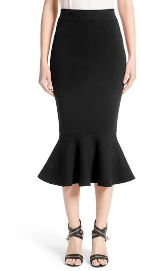 Women's Michael Kors Stretch Knit Flounce Skirt