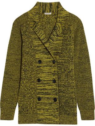 Bottega Veneta - Oversized Cashmere Cardigan - Chartreuse $2,400 thestylecure.com