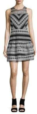 Parker Fitted Lace Dress